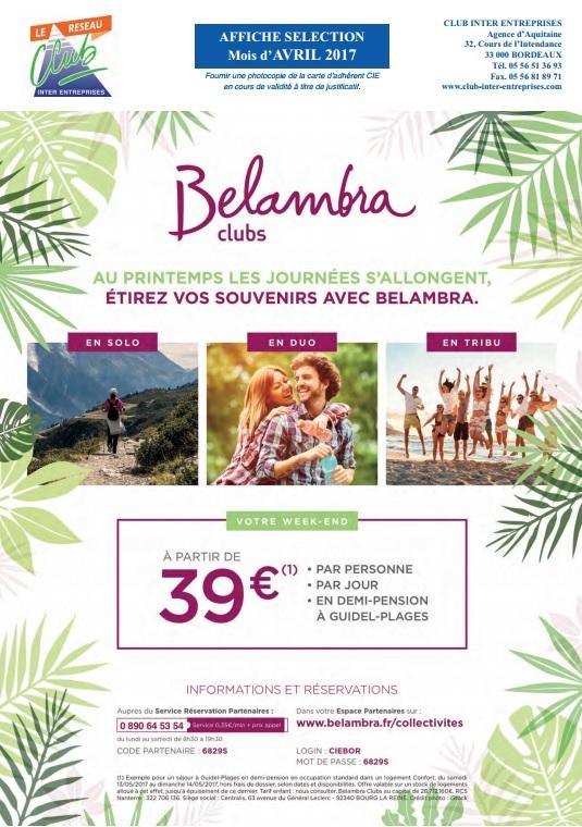 BELAMBRA CLUBS