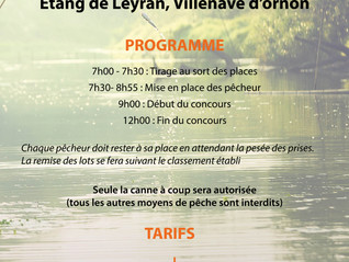 Concours poissons blancs