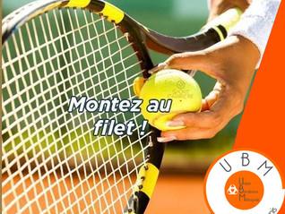 La section tennis recrute