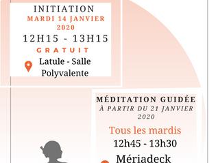 Méditation, initiation gratuite !