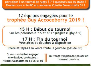 Tournoi de rugby !