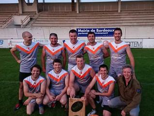UBM rugby champion du Burdi Five !
