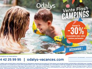Odalys, Vente Flash Campings !