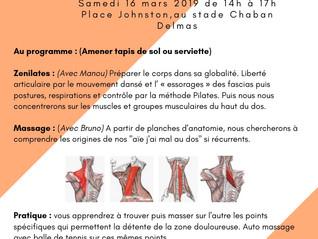 Stage Pilâtes-Massages