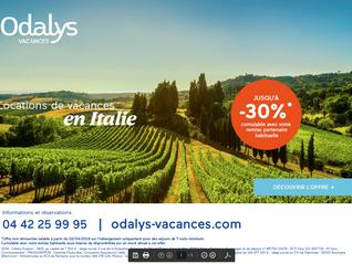 Pour vos vacances, en route vers l'Italie