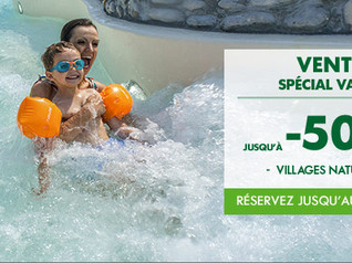 Vente flash à Center Parcs !