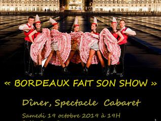 Soirée parisienne à Bordeaux !
