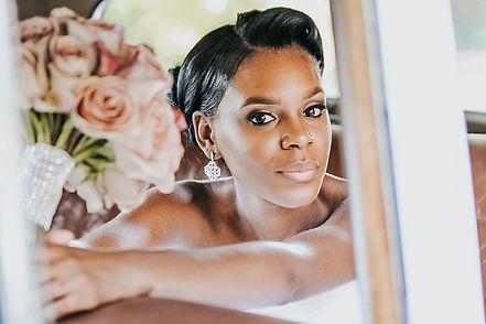African American Bride - Columbus Ohio Wedding Photography