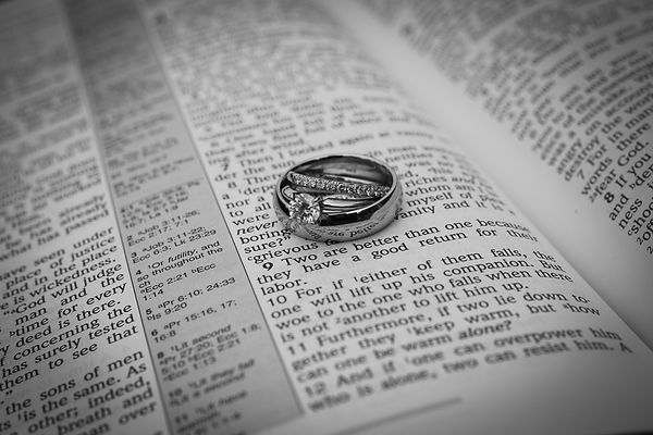 Ecclesiastes 4:9 - Two are better than one - Columbus Ohio Wedding Photography