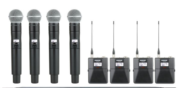 Mix and Match Shure ULXD Packages to your needs