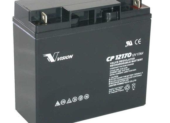 Gel akumulator VISION AGM 17Ah, 12V