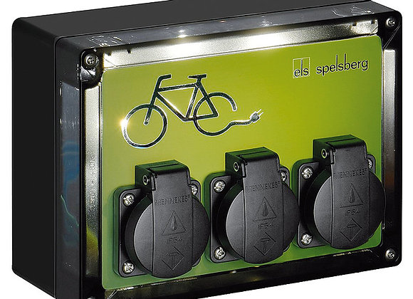 Stanica za punjenje električnih bicikala TG BCS 3 LED
