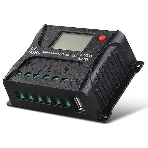 Regulator 10A 12/24V sa LCD-om