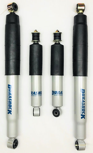 DURASHOCK D22 NAVARA UTE - 4/1997+ L/T GAS FRONT & L/T REAR RSD. SHOCKS - SET 4