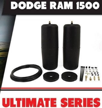 POLYAIR ULTIMATE 'Black' RAM 1500 SERIES COIL UTE suit STANDARD HT. - (R.T.A.)
