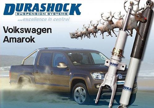 "DURASHOCK VW AMAROK GAS L/T 0-1.5"" FRONT STRUTS & 0-2"" REAR SHOCKS - ONE SET 4"
