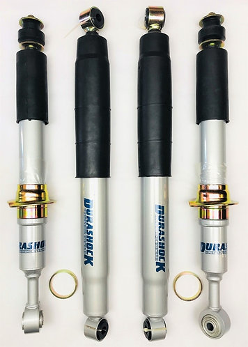 DURASHOCK HILUX KUN26 / N70 2005 ON GAS L/T FRONT STRUT & REAR SHOCK - SET 4