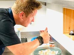 Head chef and owner Dennis Van Tintelen