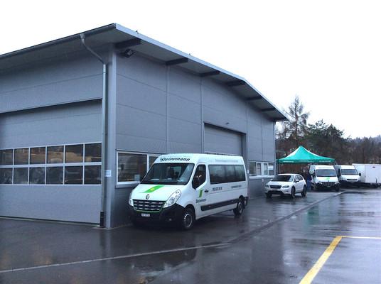 Erweiterung Verwaltungspolizei Neuhausen