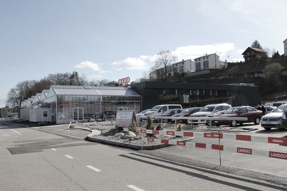 Coop Feuerthalen, Bauleitung
