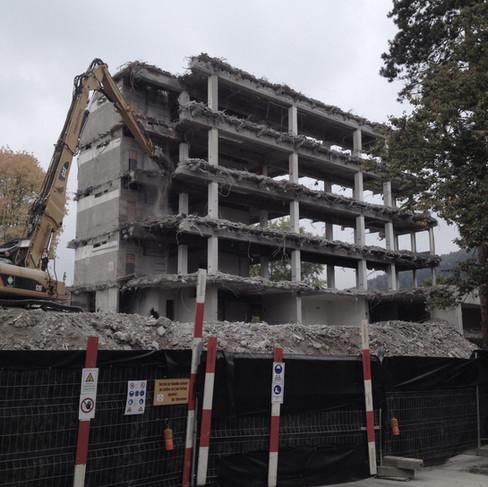 Abbruch Bürogebäude Beringen