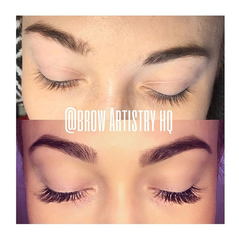 Glam Set of Faux Cashmere Lashes & Brow