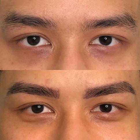 Male Eyebrow Microblading _browartistryh