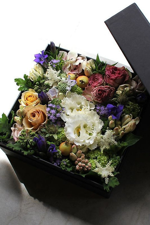 Blomster mix i æske