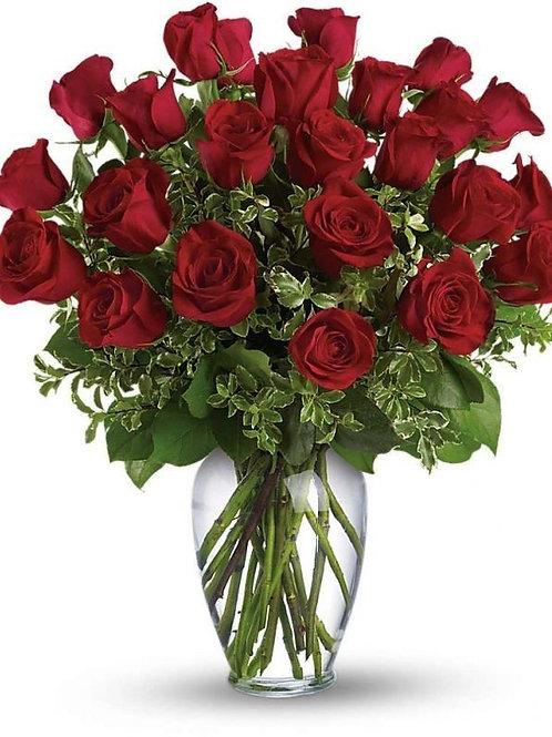 Røde roser buket