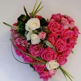 Pink hjerte
