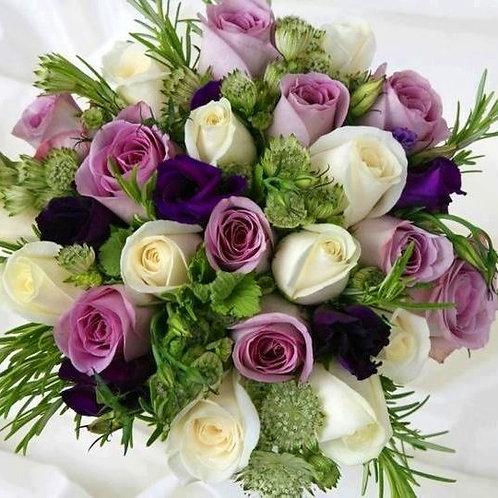Blandede roser buket