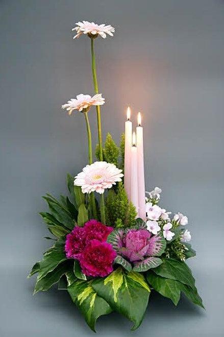Høje lys dekoration