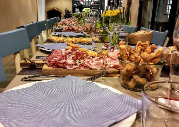Tavola evento in Sala veranda ristorante Sherbet
