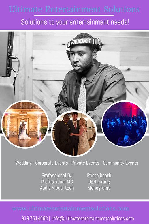 Raleigh wedding DJ