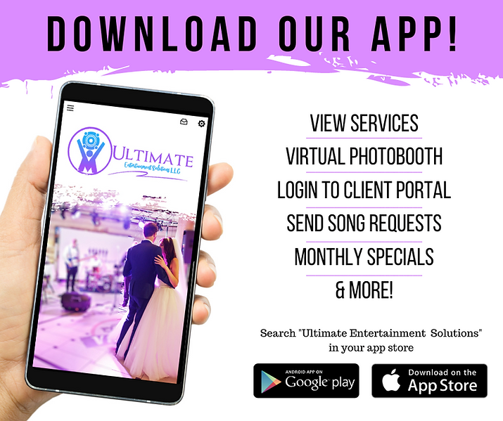Ultimate Entertainment - Social Graphic