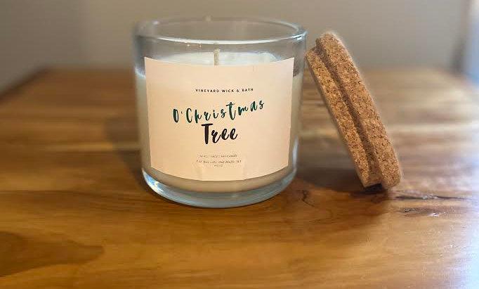 O'Christmas Tree Candle
