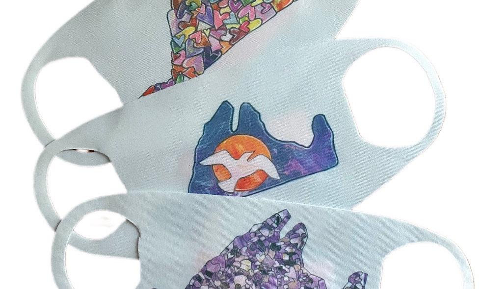 Children's Island Masks