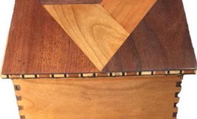 Triangle Parquetry Box