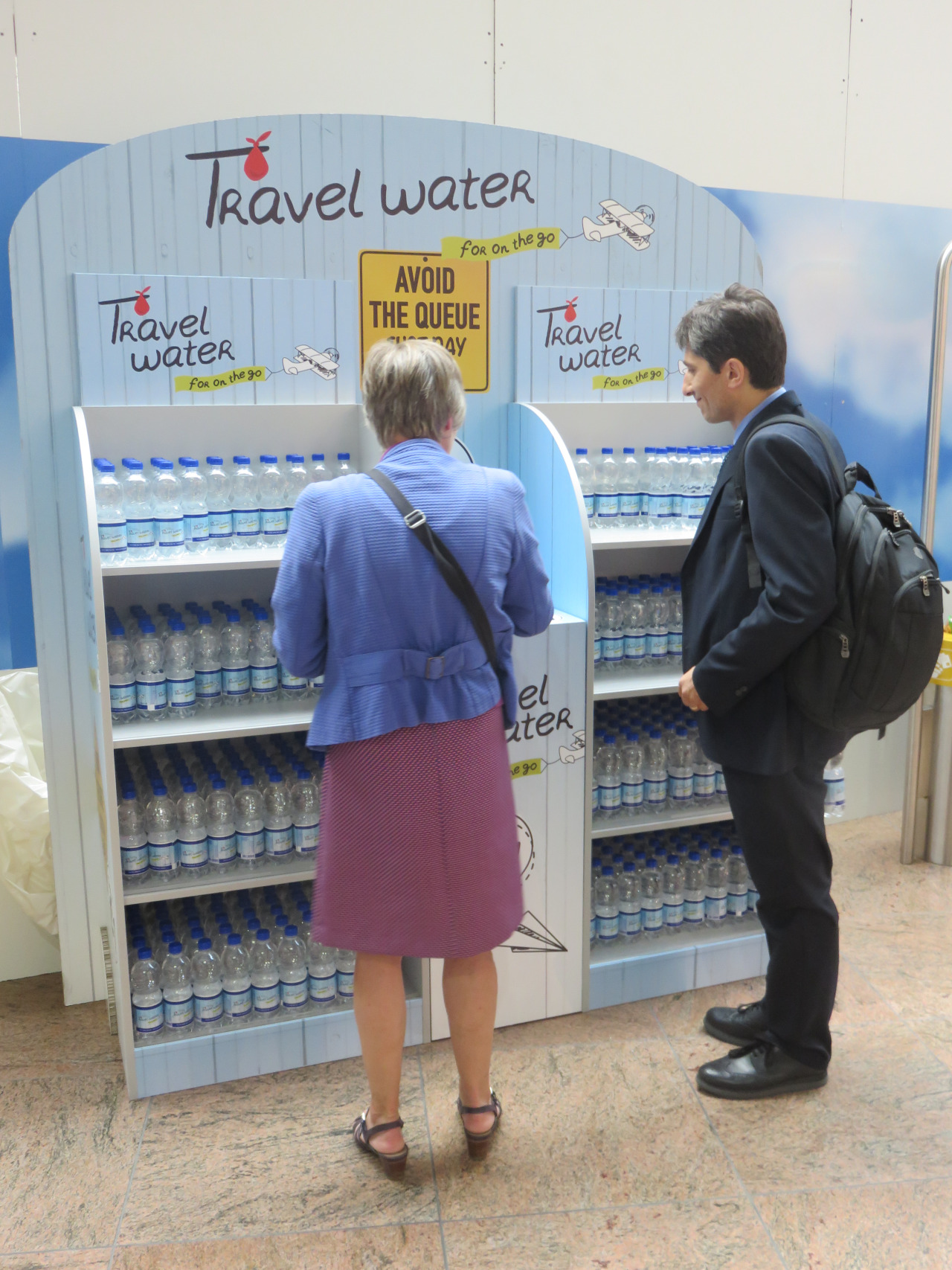 Travel Water popup Brussels Ai