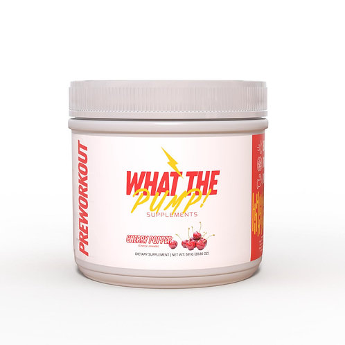 What The Pump Pre-Workout (Cherry Limeade)