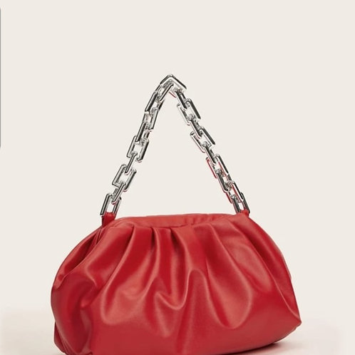 Red night out bag