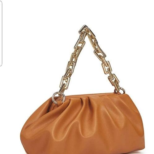 Orange night out bag