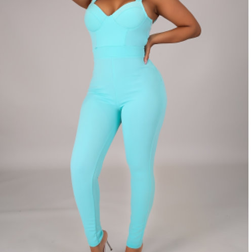 Mint Jumpsuit