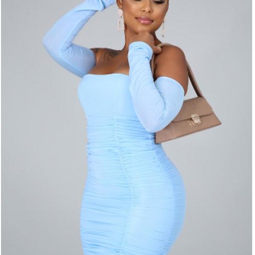 Hot and Ruched Mini Dress