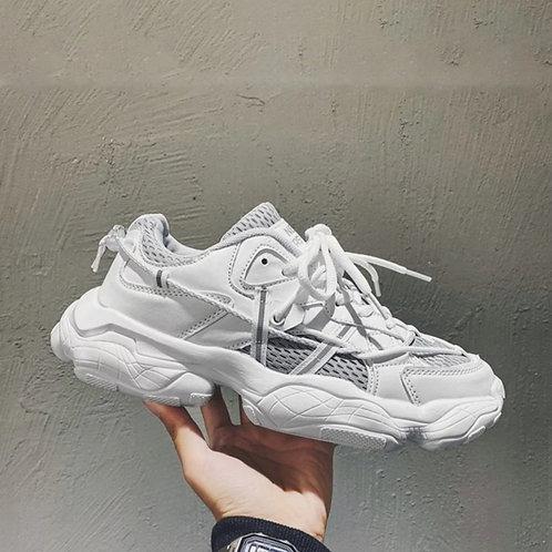 I love grey sneakers