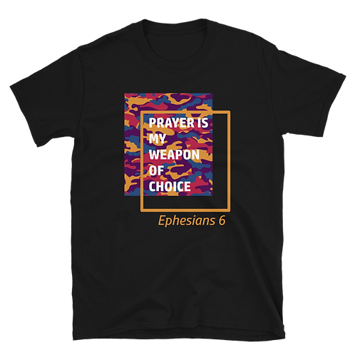 Prayer Short-Sleeve Unisex T-Shirt