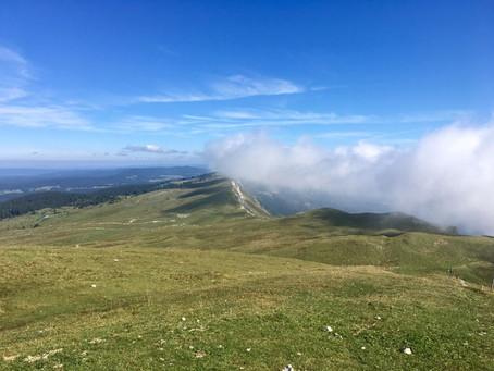 Mont Chanais in Jura Mountains 🇫🇷