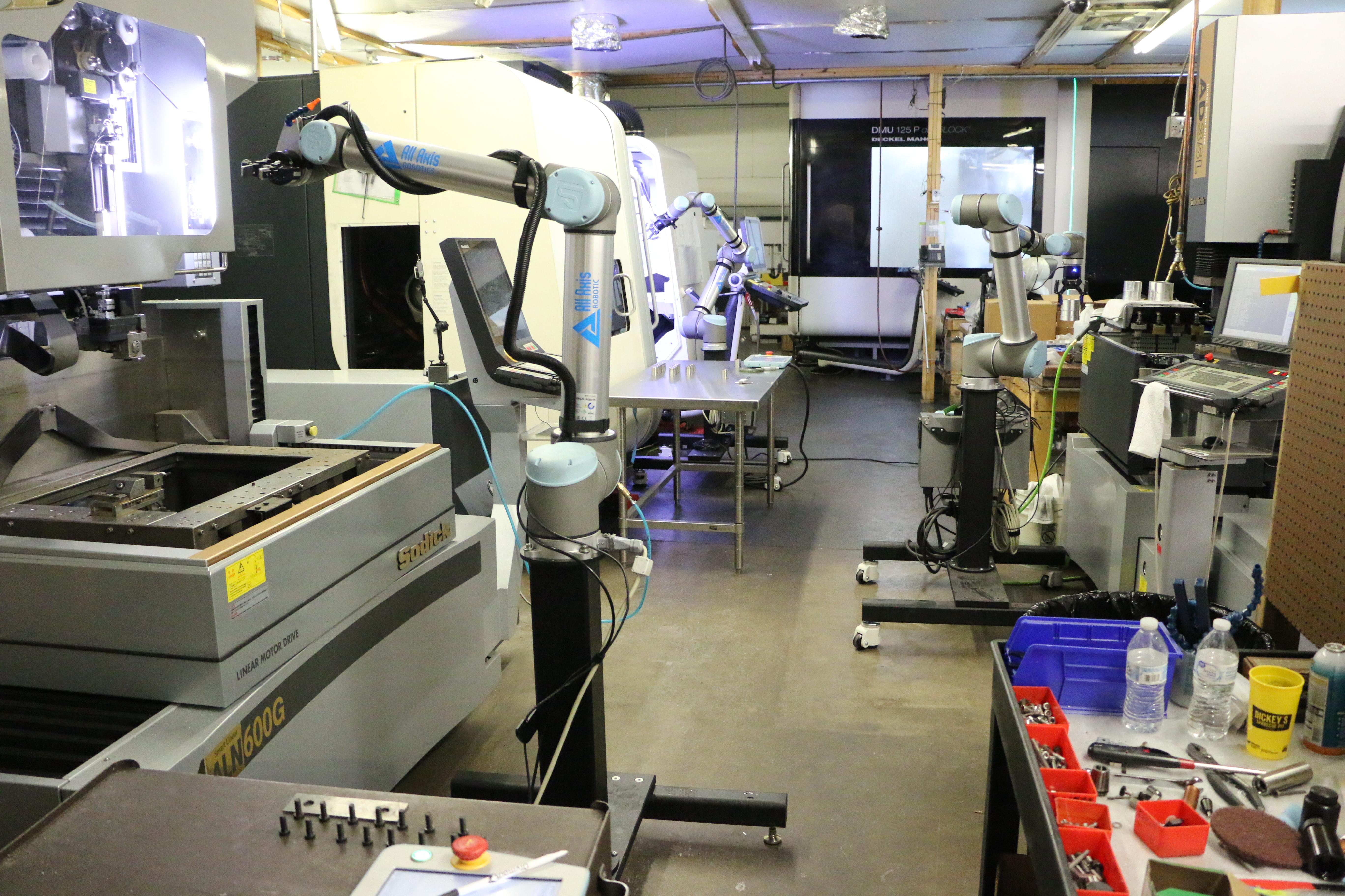 Machine Shop Automation