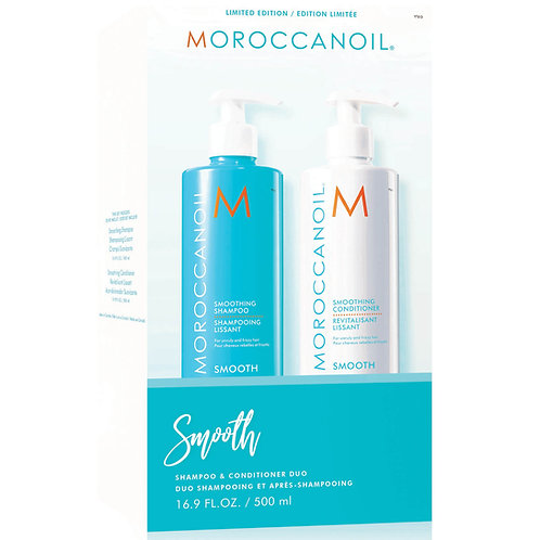 Moroccanoil Smoothing Shampoo & Conditioner Duo 500ml