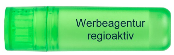 Plastikbehälter 7 cm lang in Hosentaschengröße Fröhliche Farbe für eine weibliche Note